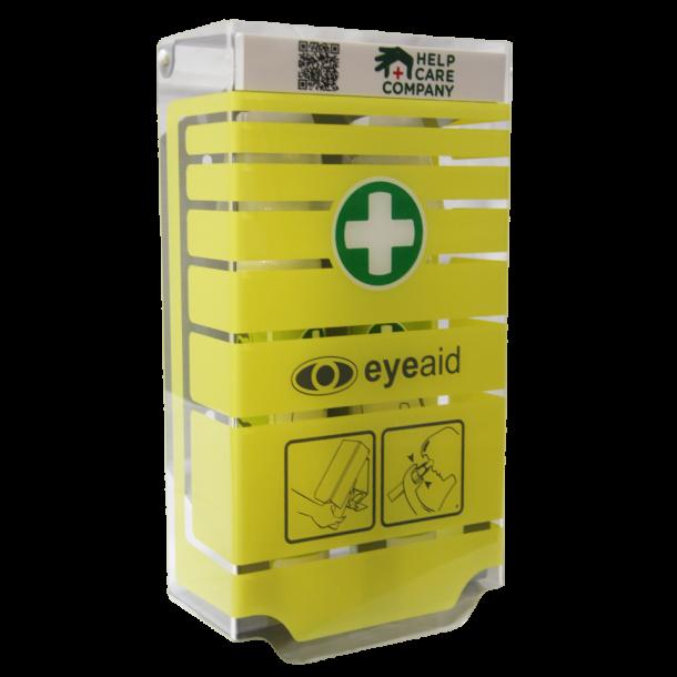 EyeAid vægstation (tom) til 250 ml EyeAid øjenskyl