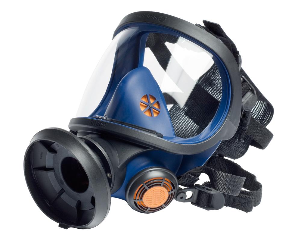 Sundstrøm SR-200 silikone helmaske glas visir - Helmasker ...